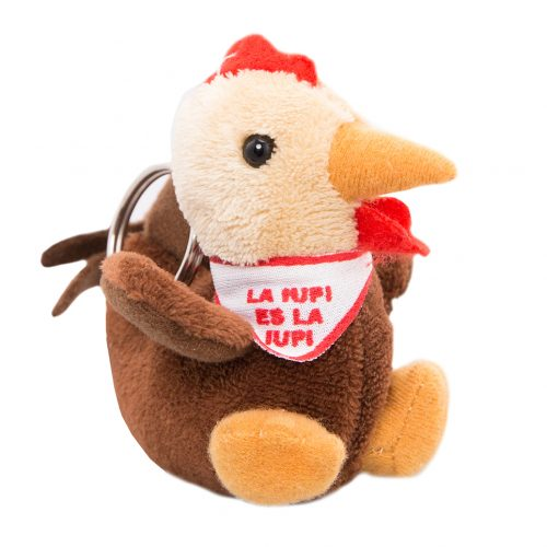 gallito plush keichain