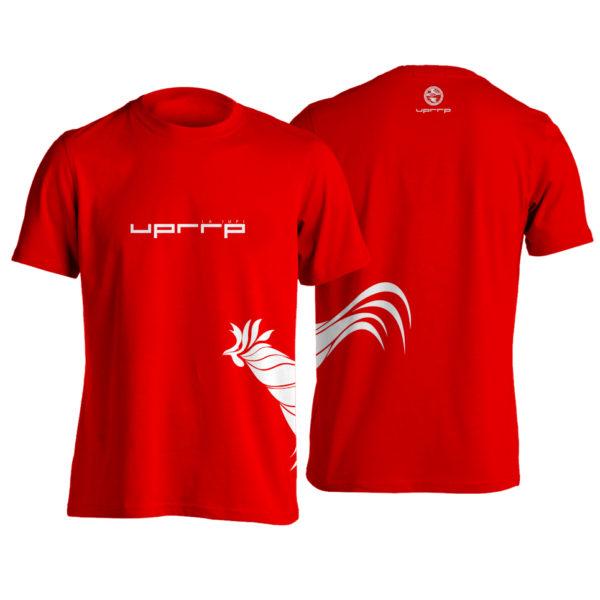tshirt gallo lado roja
